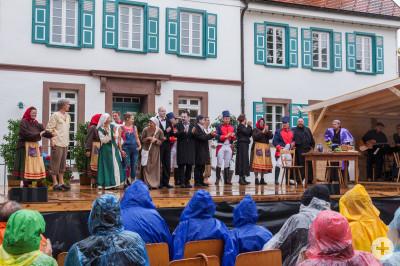 Historische Theaterstück 1200 Jahre Denkingen