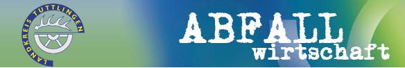 Logo Abfallwirtschaft Landratsamt Tuttlingen
