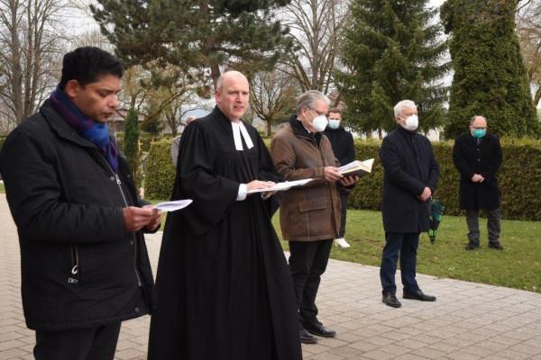 Denkingen gedenkt der Opfer der Corona-Pandemie